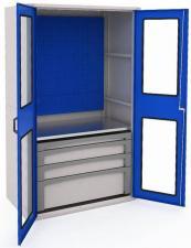 Шкаф металлический для инструментов MODUL 2000 №8 купить в спб со вкидкой дешево