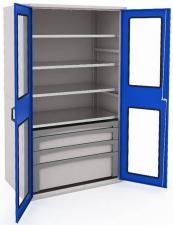 Шкаф металлический для инструментов MODUL 2000 №9 купить недорого в спб скидка