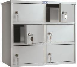 Металлический Шкаф кассира  AMB-45/6 купить по низкой цене