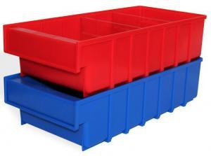 Ящик пластиковый серии B 100×185×400 складской купить дешево со скидками в спб