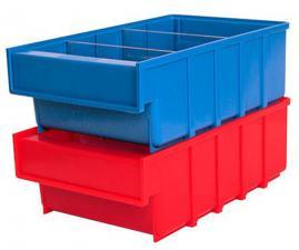 Ящик пластиковый серии B 100×185×300 складской, купить дешево