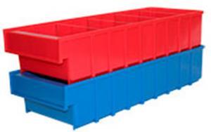 Ящик пластиковый серии B 100×185×500 складской для хранения. Купить недорого