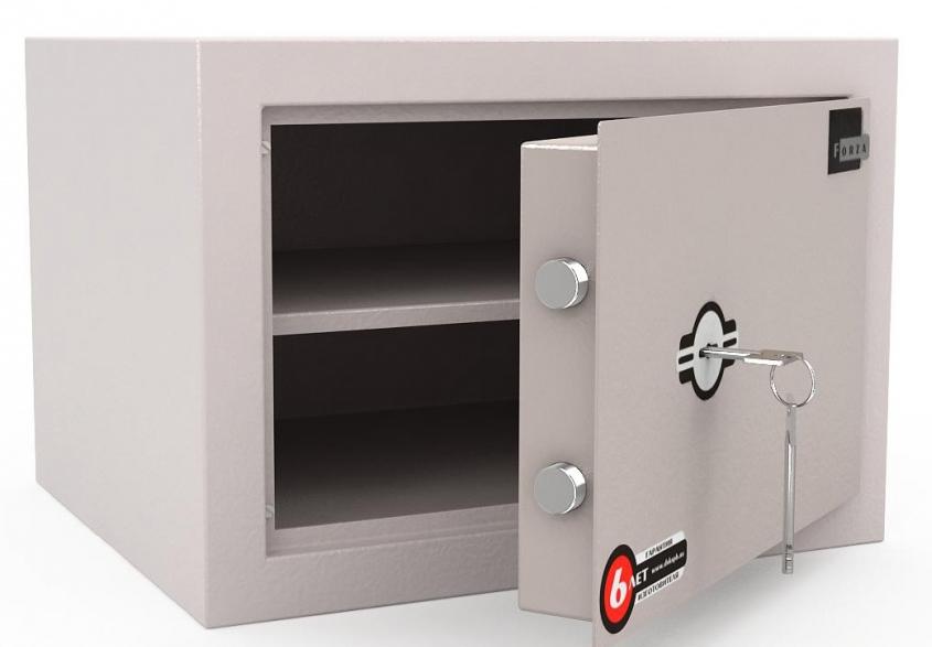 Сейф офисный для документов LS-030 R (серый)