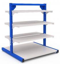 Система хранения SORTEX 1075-2 №1-1 металлическая (двухсторонняя) купить недорого со скидкой в спб