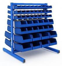 Система хранения SORTEX 1075-2 №1-4(двухсторонняя) металлическая купить в спб дешево