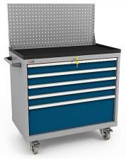 Тумба инструментальная в комплекте ВС-035 с экраном, лотком, колесами и боковой ручкой купить недорого в спб