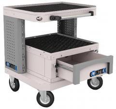 Тележка компьютерная COMTEX №3 металлическая купить в спб дешево