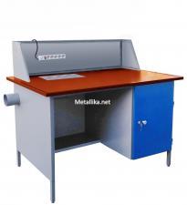 стол металлический паяльщика СПпк01 М купить дешево в спб