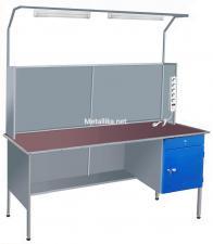 Столы СЭпк23 металлические СЭпк22  для электромонтажника купить дешево в спб