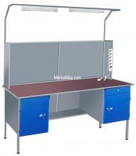 Столы металлические СЭпк22  для электромонтажника купить дешево в спб