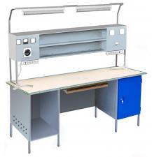 Столы металлические для электромонтажника CЭпк05М купить дешево в спб