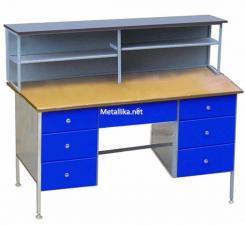 Стол металлический для электромонтажных работ CЭпк04М купить недорого в спб, скидки