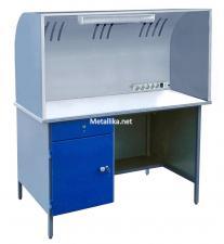 Стол для пайки металлический СПпк32 М купить со скидкой в СПб дешево