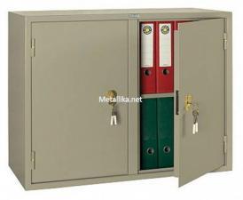Шкаф металлический офисный бухгалтерский КБ - 09 / КБС - 09 дешево