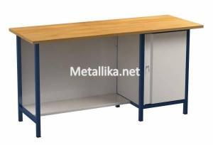 Металлический верстак слесарный  21.3Д.021 купить недорого