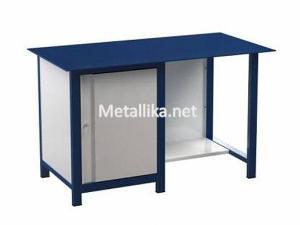 Металлический верстак слесарный  22.3М.110 столешница из металла