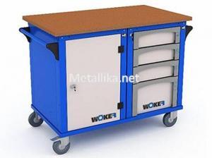 металлический слесарный верстак WOKER WBM 2 №1 купить недорого
