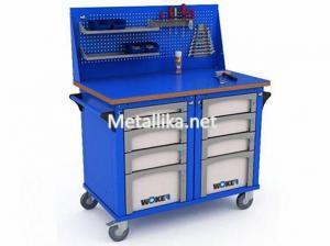 металлический слесарный верстак WOKER WBM 2 №2 купить недорого