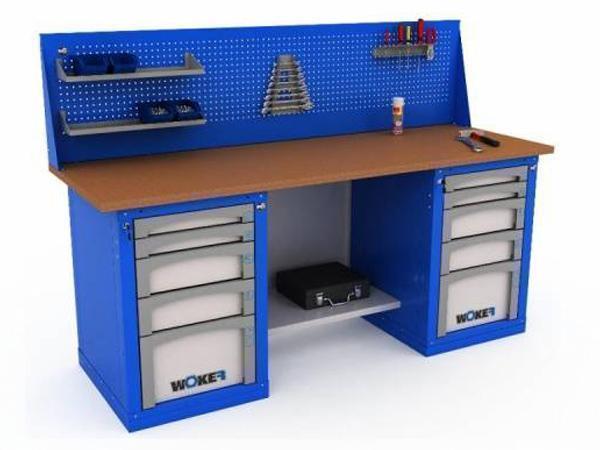 Верстаки и столы инструментальные WOKER (нагрузка до 1000)